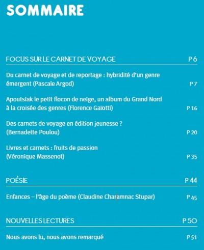 revue,littérature jeunesse,nous voulons lire,illustration,carnet de voyage