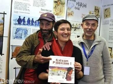 salaam palestine,clermont-ferrand,rendez-vous du carnet de voyage,dédicace,librairie