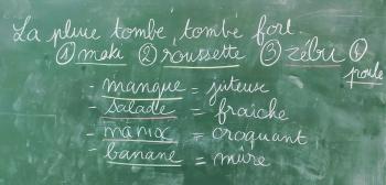 mayotte, réécriture, atelier d'écriture, atelier d'illustration, rencontres scolaires, Mayotte