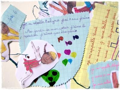 art postal,work in progress,correspondance,cp,école élémentaire,la grande vague,koï nobori,mayotte