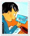 atelier d'écriture,atelier d'art postal,école élémentaire,voyage,collage