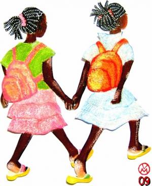 Expo Mayotte - Fillettes à l'école.JPG