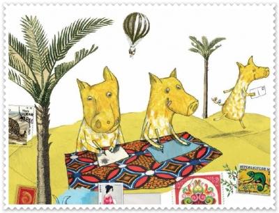 atelier d'art postal,auxerre,partir en livre