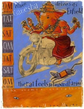 carnet de voyage c Merlin Inde 2002-Ganesh.jpg