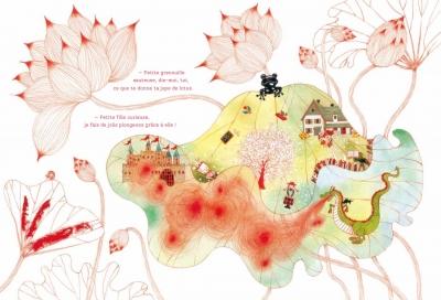 jeu,la petite fille qui cueillait des histoires,traduction